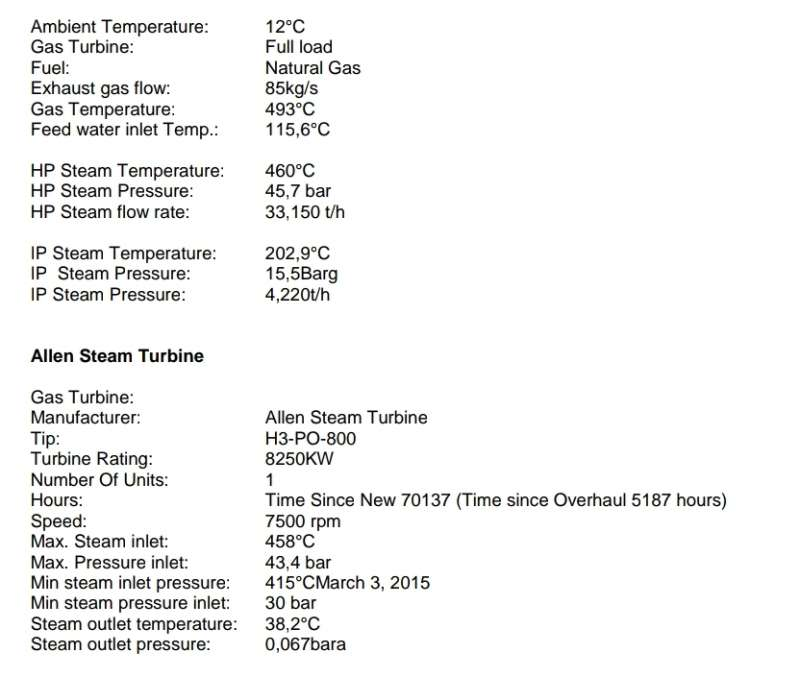 Allen Steam Turbine